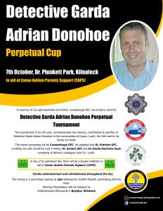 Detective Garda Adrian Donohoe Perpetual Cup
